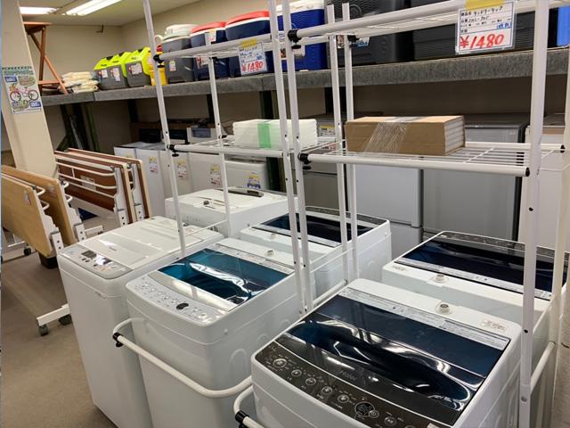 冷蔵庫洗濯機売場