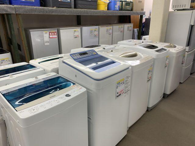 洗濯機売場