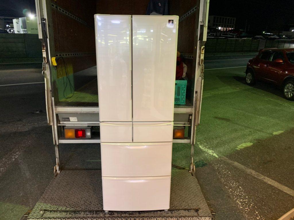 シャープ大型冷蔵庫買取
