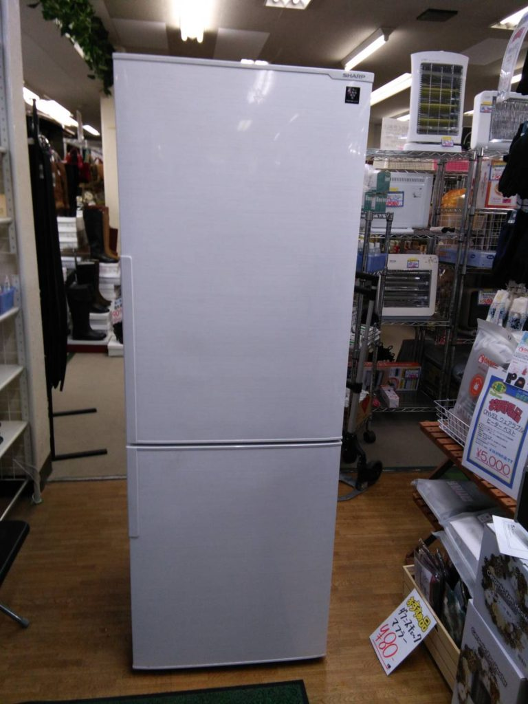 シャープ ビッグ2ドア冷蔵庫買い取りました